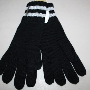 MICHAEL KORS KNIT WITH PLATE LOGO GLOVES GLOVE